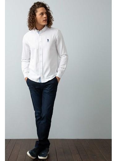 U.S.Polo Assn. Gömlek Beyaz